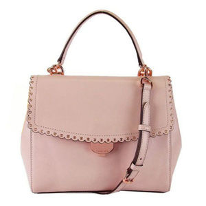 MICHAEL KORS  Soft Pink Leather Shoulder Bag $328.